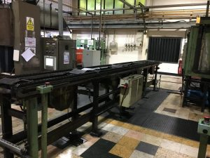 Electrical installations - factory floor